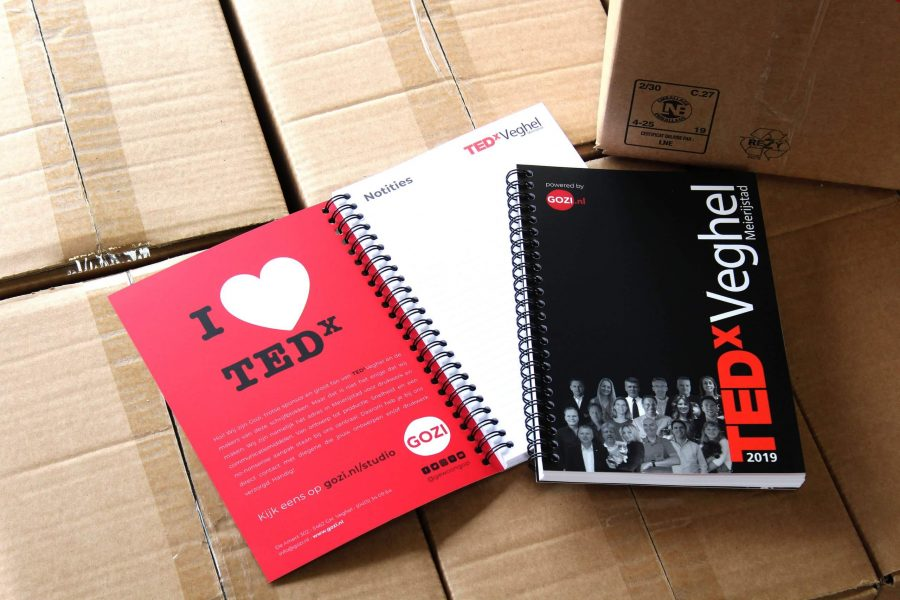 portfolio-TEDx-schrijfblok